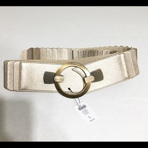 Chico's Adrienne Belt/Size Large/Neutral/NWT